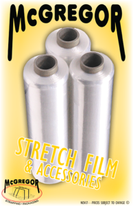 Stretch Film Catalog cover